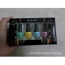 Impressão personalizada dobrável caixa de plástico transparente para cosméticos (caixa de PVC)