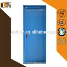 Porte d'entrée en acier adaptée aux besoins du client, conception principale en acier de porte de sécurité