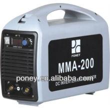 CE inversor DC 200 amperios máquina de soldar