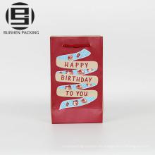 Bolsas de papel decorativas del arte del embalaje del presente
