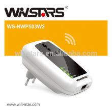 500Mbps Wireless Powerline Adapter mit AC Pass Through Bis zu 300 Meter Reichweite