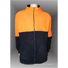 Hot sale 100% polyester man's polar fleece jacket