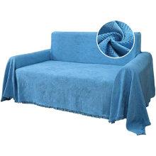 Funda de jacquard con borlas de sofá 100% algodón en general
