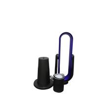 Vente en gros en plastique de bureau à faible bruit et sans lames, ventilateur ABS