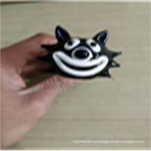 El mejor regalo lindo gato fumar pipas de cristal para fumar (ES-HP-158)