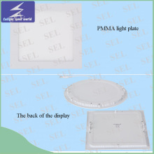 Alta calidad Round Square Slim LED Panel Light para Oficina