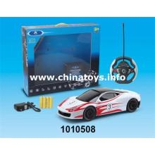 New Item Kunststoff Spielzeug 4-CH R / C Auto (1010508)