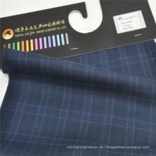 Qualität W50P50 Schafwolle Polyester Stoff Herrenanzug Stoff
