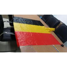 Belgien Flagge PVC Regen Poncho