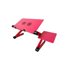 Customized Fixed Aluminum Alloy Desk High Adjustable Notebook Laptop Table Holder Stand for Bed