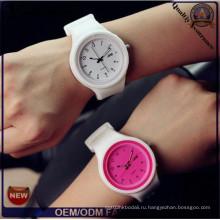 Yxl-993 2016 Мода случайных желе силиконовые кварцевые часы наручные часы женщин платье бренда часы