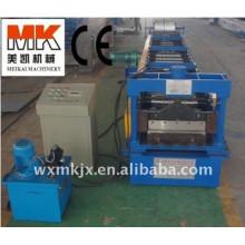 Rollo del panel de la cubierta del piso de acero que forma la máquina / hoja del piso de la hoja de metal que forma la cadena de producción