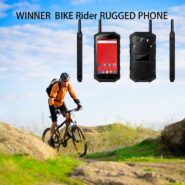 WINNER BIKE Rider RUGGED PHONE