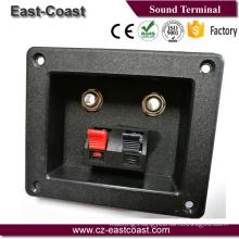 "Speaker terminal box with dual push terminal &2X1/4"" Jack"