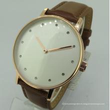 Reloj personalizado Logo Excel Geneva Japón Movt Reloj de cuarzo