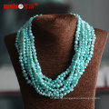 Multistrands Green Baroque Cultured Pearl Necklace Wholesale (E130113)