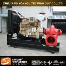 Bomba de água de esgoto diesel móvel para irrigação
