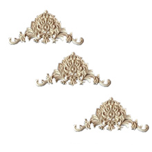 solid wood  carving carved furniture wood appliques onlays