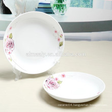 cheap porcelain soup plate