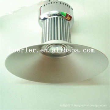 High lumens 100-240v 80w 100w a conduit une utilisation élevée de la lumière de la baie pour l'usine, l'industrie et l'entrepôt conduit la lampe à haute baie