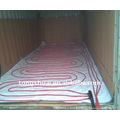 Heating pad for flexitank in 20 feet container