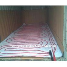 Coussin pour flexitank en conteneur de 20 pieds chauffant