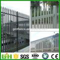 PVC Coated Steel Palisade Metal Fence