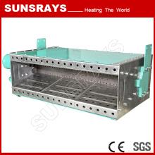 Quemador de aire a largo plazo de la estufa de gas de la hornilla de la fuente para la calefacción del sitio del espray