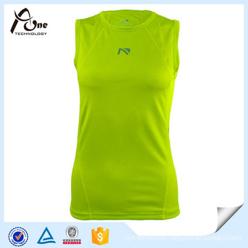 High Quality Girl′s Custom Wholesale Fitness Tank Top