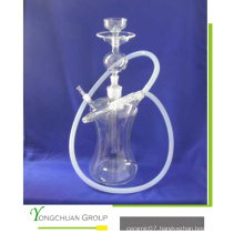 Arab Glass Shisha Hookah Transparent Hand Made Good Qualtiy Shisha
