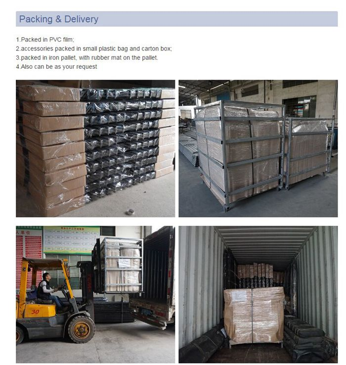 steel fence Packing