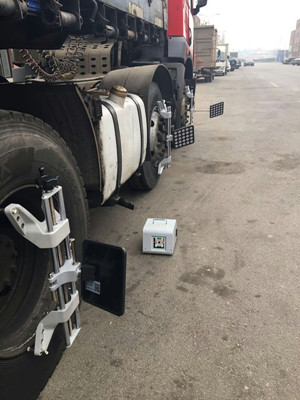 Portable 5D Wheel Alignment System