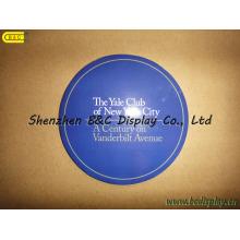 Durchmesser 10cm runde absorbierte Bier-Untersetzer, 2mm Stärke Wirh SGS (B & C-G098)