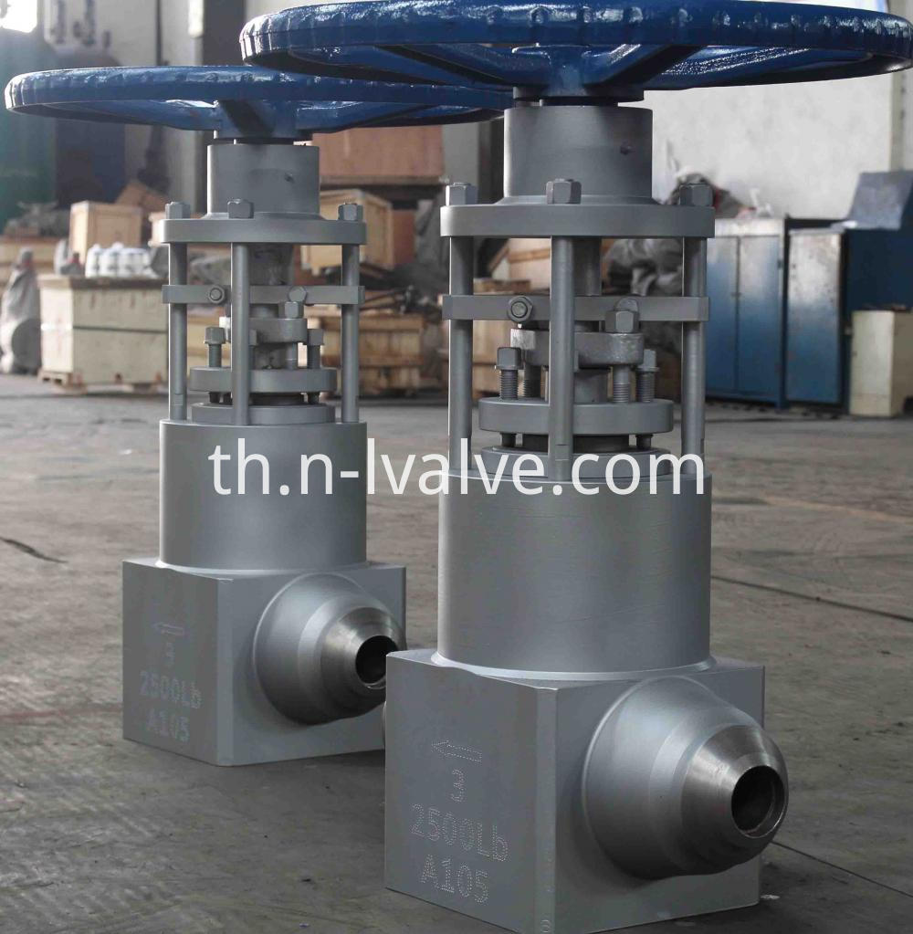 Class 2500 A105 Power Station Gate Valve