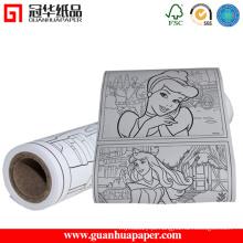Fábrica de papel de desenho Imediatamente
