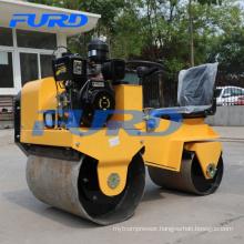 700kg air cooling diesel engine mini road roller compactor (FYL-850)