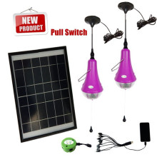Sistema de iluminación solar portátil barato para luz de emergencia de energía interior, solar, mini kits de luz solares
