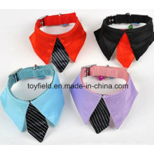 Pet Collar Leash Scarf Clothes Cotton Dog Bandana