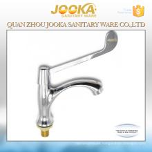 Medical long handle basin water faucet