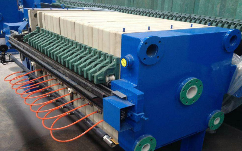 sewage membrane type filter press