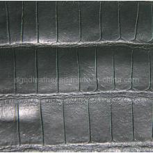 Cuero fuerte de la PU de los zapatos que dobla (QDL-SP019)
