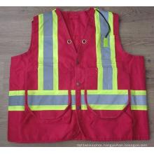 Hot Sale High Visiblity Security Traffic Working Reflective Surveyor Vest