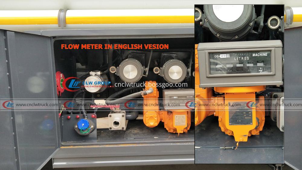 fuel tank truck flow meter