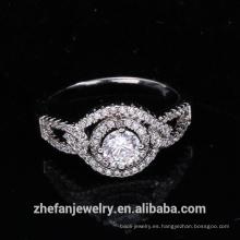 anillo de bodas de la manera recién llegados 2018 suministros de joyería al por mayor de china