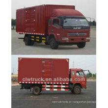 Dongfeng 4x2 van caminhão de carga para venda, 20 cbm caminhão de carga