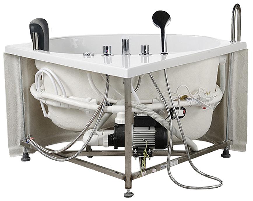 Freestanding Bathtub White Tub Massage Bathtub