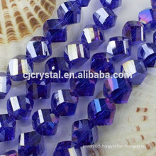 decorative crystal glass beads in bulk for clothes