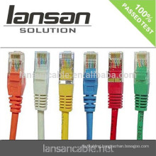 CAT6 PATCH CORD LAN CABLE 2M 3M 5M (CE/RoHS/UL/ISO)