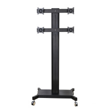 "Public TV Floor Stand 6-Monitor 10-24"" (AVD 004B)"