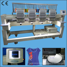 New quality 4 head embroidery machine price for tajima DST format